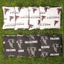 Cornhole Bean Bags Set of 8 ACA Regulation Bags Atlanta Falcons Free Shipping!