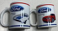 Set of 2 Ford Mustang Mug 1972 Sprint 2014 GT Coffee Cups/Mugs