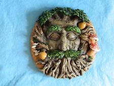 Tree Ent Face Wall Plaque Medium/Myth and Fantasy/ Treant/Garden /Sculpture
