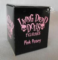 LDD living dead dolls FIGURINE * PINK POSEY * sealed