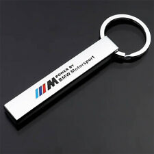 BMW MSPORT LOGO KEYRING STRONG HIGH QUALITY METAL TITANIUM ALLOY