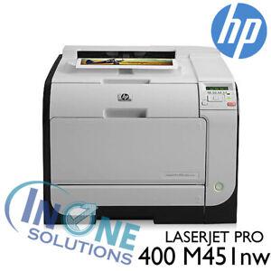 HP LaserJet Pro 400 M451nw [Refurbished]