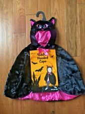 Toddler Hooded Cat Cape - One Size Only- Ages 2-4 (NWT)