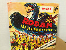 Vintage 1960's Rodan The Flying Monster Super 8 Plus Preview Attractions