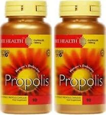 Bee Health PROPOLIS 1000mg x 90 Capsules ( 2 Packs)