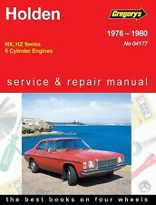 Holden HX-HZ 6 Cylinder Workshop Repair Manual From 1976-1980 with MPN GAP04177