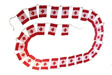 "CANADA - 28 (8"" X 12"" Inch) MEDIUM FLAG BANNER BUNTING..10 Meters / 32.8 Feet"