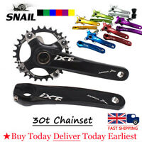 30t 104bcd Single Narrow Wide MTB Road Bike 170mm Chainset Crank set Chainring