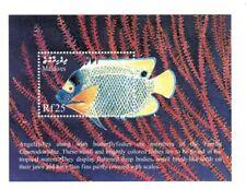 VINTAGE CLASSICS - Maldives 2391 - Blue-Faced Angelfish - Souvenir Sheet - MNH