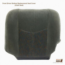 2004 Chevy Silverado 1500 2500 HD LS-Driver Side Bottom Cloth Seat Cover Dk Gray