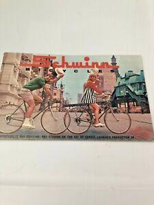 Schwinn Bicycle Owners Manual Original 1969 Catalog