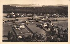 HVEZDONICE CZECHOSLOVAKIA AERIAL PHOTO POSTCARD 1953