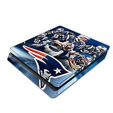 Sony PS4 Slim Skin Decal Sticker Vinyl Wrap - Tom Brady New Patriots