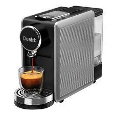 Dualit Lusso 85150 Capsule Tea & Coffee Machine in Silver & Black DPD1 Espresso