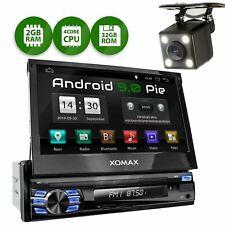 Autoradio mit Android 9 Navi Gps Bluetooth Dab Usb 4g 1din inkl Rückfahrtkamera