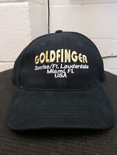 Goldmember Mens Club Hat Cap Strip Gentleman's Club Sunrise Miami Ft. Lauderdale
