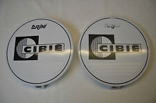 GENUINE CIBIE TURINI DRIVING SPOT LIGHT WHITE COVERS 4WD ***OLD NEW STOCK***