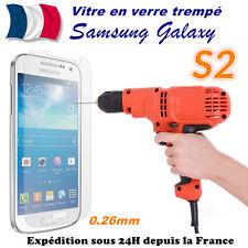 Vitre protection film protecteur d'écran en VERRE TREMPE Samsung Galaxy S2 i9100