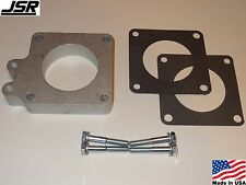 86-93 Mustang GT or LX 5.0 Throttle Body EGR Spacer Delete Plate Kit 1in X 70mm