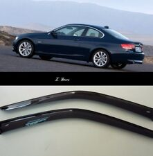 For BMW 3 Coupe E92 2006-2013 Side Window Visors Sun Guard Vent Deflectors