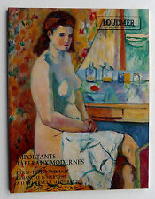 CATALOGUE LOUDMER 1997 tableaux modernes MANGUIN CHAGALL VUILLARD KISLING