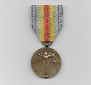 FRANCE. Victory Medal 1914-1918, rare unofficial issue type 1 by Charles