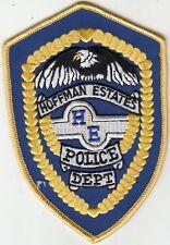 HOFFMAN ESTATES POLICE DEPARTMENT SHOULDER PATCH ILLINOIS IL
