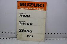 1969 SUZUKI AC100 AS AC 100 PARTS CATALOG SHOP SERVICE REPAIR (SSM)