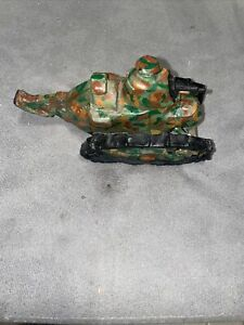 LEAD FIGURAL WWI ARMY TANK MILITARY Handmade 5x2