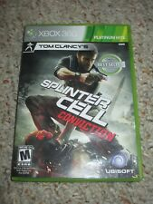 Tom Clancy's Splinter Cell: Conviction (Microsoft Xbox 360, 2010) Complete