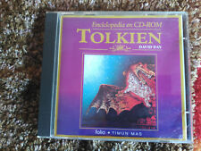 ENCICLOPEDIA EN CD-ROM TOLKIEN - DAVID DAY - CEAC SPAIN 1991 UNUSED VG+/NM