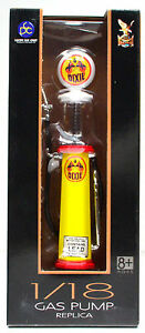 "Nostalgic Fuel Pump "" Dixie "" Gas Pump Round scale 1:18"