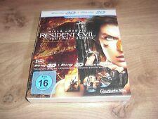 Resident Evil The Final Chapter Blu-Ray 3D Premium Edition DIGI-PACK NEU
