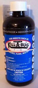 Kill-A-Bug bedbugs 36.8% permethrin indoor spray roach spider fleas insects 16oz