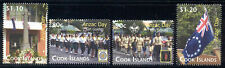 Cook Islands - 4 MNH 2010 ANZAC Day stamps #1323-7 Low Ship