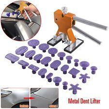 Autos Dent Paintless Repair Metal Dent Lifter Glue Puller Tabs (24x, purple) Kit
