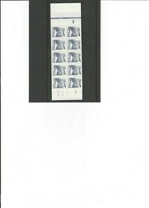 US 1982 BK142  $4.00 Booklet 1949a, 20¢ Bighorn Sheep 2 panes 0f 10. Plate 3 MNH