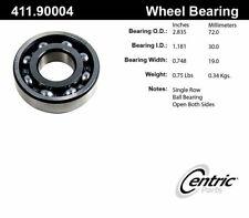 Axle Shaft Bearing-C-TEK Standard Bearings Rear,Front Inner Centric 411.90004E