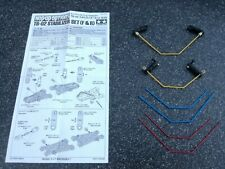tamiya TB-02 hop-up part ITEM 53677 stabilizer set F+R