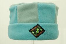 Blue Striped Designer Porkpie Fleece Hat by Original Lizard