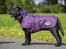 NEW Weatherbeeta Windbreaker 420D Deluxe Dog Rug Coat Purple/Black Showerproof