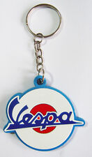 New rubber Vespa Logo Motorcycle keychain/keyring. Collectible Gift (kr147)