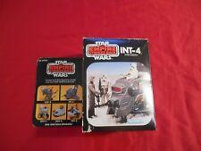 Vintage Star Wars Empire Strikes Back 1981 INT-4 Mini-Rig Instructions