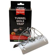 Rentokil Tunnel Mole Killer Trap Quickly & Humanely - Easy to Set & Poison-Free