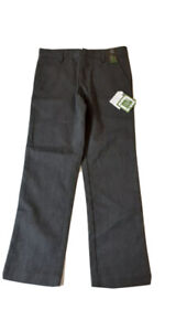 NEXT BNWT GREY FLAT FRONT SCHOOL TROUSERS AGE 9