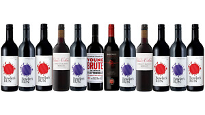 Red Mix Wine Featuring Young Brute Red Blend (12x750ml) Free Shipping!