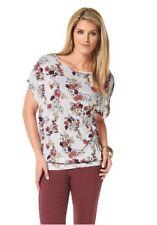 """Shirt """"Blüten"""" von CHILLYTIME Gr.40 NEU"""