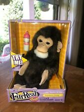 FurReal Friends Baby Newborn Chimpanzee Interactive MONKEY 2007 Hasbro
