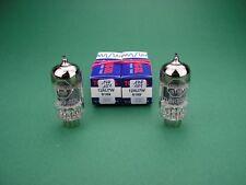 2 x 12AU7 6189 TUNG-SOL balance select & matched pair - ECC82 Röhre Tube Valve
