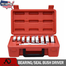 Set 0f 10pc Bearing Race and Seal Driver Aluminium Bushing Installer Remover US